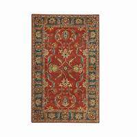 home depot rugs Home Decorators Collection Aristocrat Rust Red 9 ft. x 12 ...