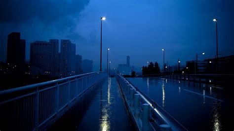 sidewalk bridge  lights hd dark aesthetic wallpapers