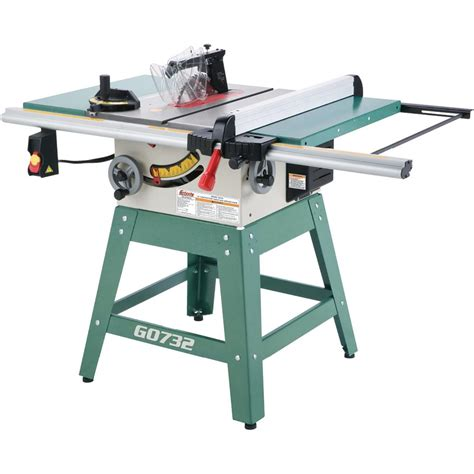 mobile table saw stand grizzly g0732 contractor table saw review table saw central