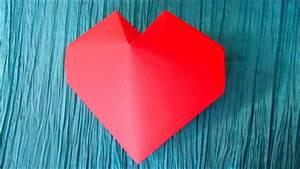 Origami Fleur Coeur D étoile : origami c ur 3d ~ Melissatoandfro.com Idées de Décoration