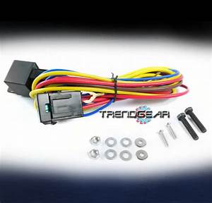 Fog Lights Lamps Wiring Harness Kit For 1999