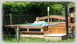 Poolabdeckung Aus Holz Selber Bauen : poolverkleidung aus holz selber bauen wie schwimmbad und saunen ~ Watch28wear.com Haus und Dekorationen
