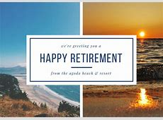 Customize 43+ Retirement Card templates online Canva