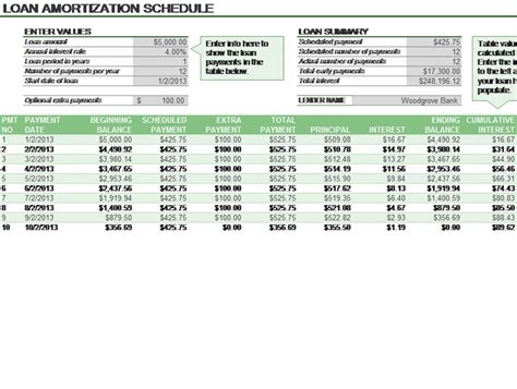 loan amortization calculator download excel loan amortization actual 360 related excel