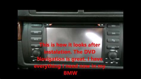 Unboxing Installing Bmw Dvd Navigation System
