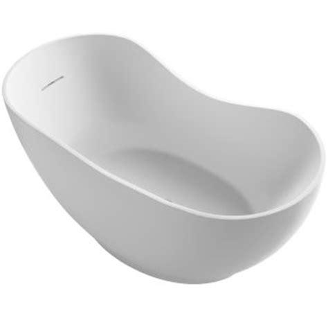 Kohler Kelston Freestanding Tub Filler by Kohler K 1800 Hw1 Honed White Abrazo Collection 66