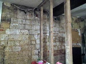 renover un mur interieur en pierres calcaires conseils With renovation mur pierre interieur