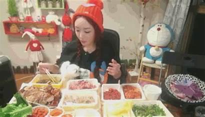 Bang Dinner Korea South Mok Eating Korean