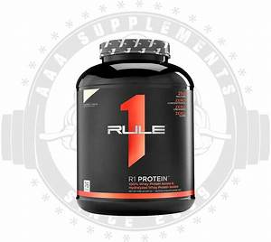 Aaa Supplements Rule 1 - R1 Wpi Protein Isolate  76 Serve   5lbs
