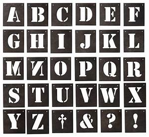 desna letter stencils 30 pcs 55x6quot farmhouse wall With farmhouse letter stencils