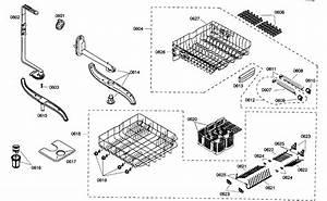 Racks Assy Diagram  U0026 Parts List For Model Shx45m05uc48