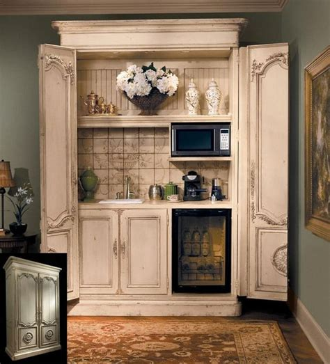 armoire makeover armoires  coffee maker  pinterest