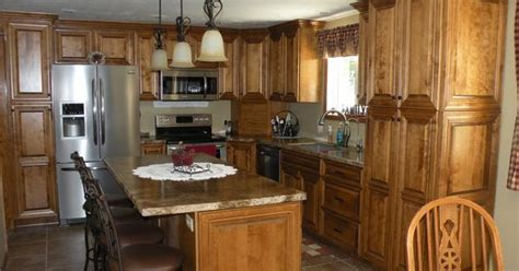 use kitchen cabinets birch cabinets raised panel doors with medium brown 3100