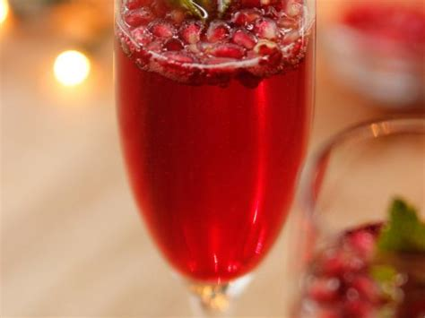 Pomegranate Champagne Cocktails Recipe  Ree Drummond