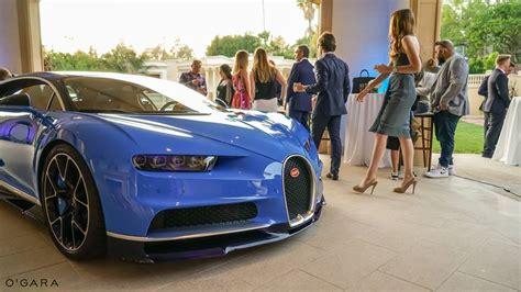 Bugatti Chiron Beverly Hills Debut