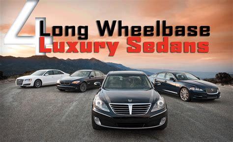 Long Wheelbase Luxury Sedan Comparison Test