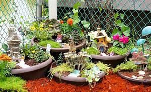 How to make a DIY Fairy Garden - YouTube
