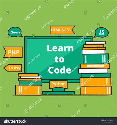 how to learn web designing at home concept flat vector learning concept web design stock vector