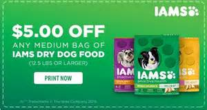 iams cat food coupons new high value 5 1 iams food 12 5lbs or larger
