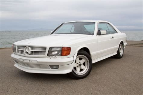 Rare 1984 Mercedes Benz 500sec Amg Euro Model Amg Kit