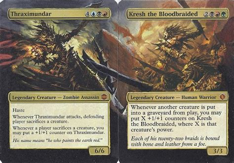 magic the gathering thraximundar edh deck best alter for your commander edh