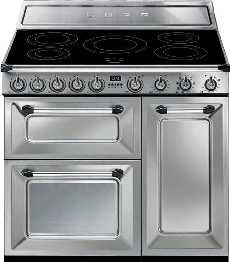 electric range cookers 90cm smeg tr93ix 90cm electric range cooker stainless steel buy today 365 electrical