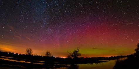 sternenpark havelland polarlicht  dunkelsten ort