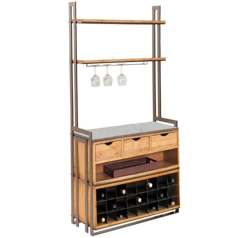 kitchen cabinets prices deluxe wentworth bakers rack with drawers and wine rack 6018