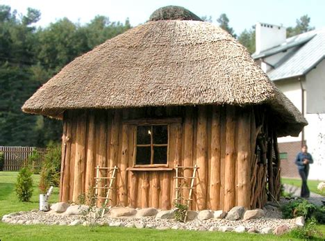 Reetdachhaus Aus Polen Dielenparkettde