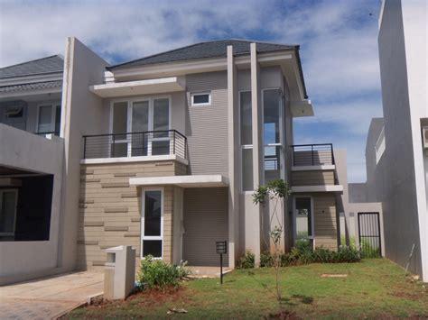 rumah minimalis lantai dua modern rumahminimalismanja