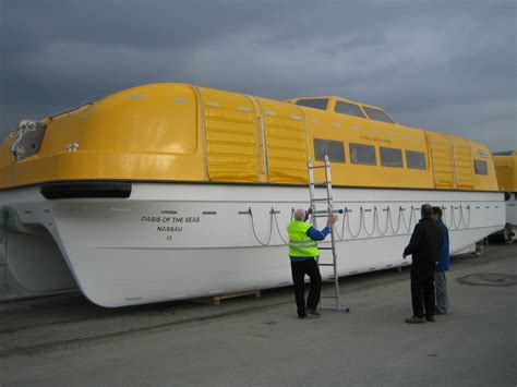 til that modern day lifeboats on cruise ships are