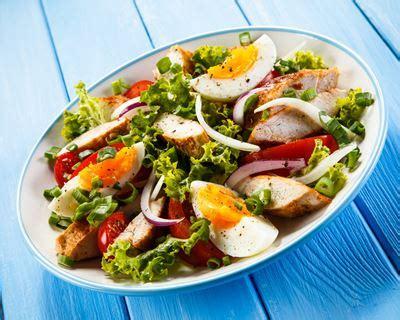 recettes de cuisine rapide recette salade de poulet