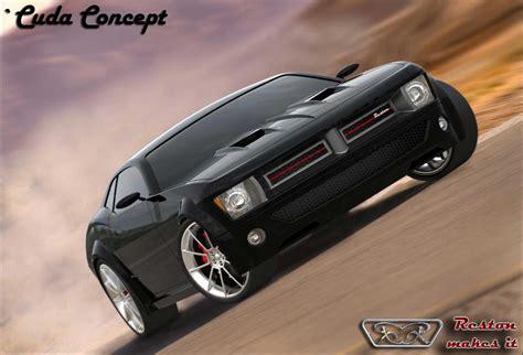 cuda concept rendering car body design