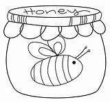 Honey Pot Drawing Jar Scribbles Designs Challenge Stamp Template Freebie Cute Digital Bee Coloring Pages Friday Sketch Drawings Getdrawings Paintingvalley sketch template