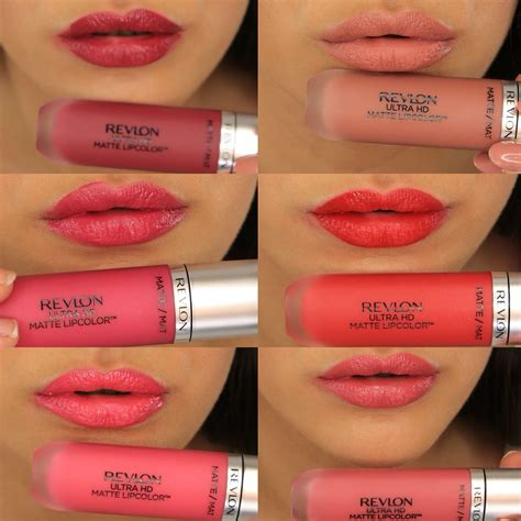 color matte lipstick revlon ultra hd matte lip colors i am in with this