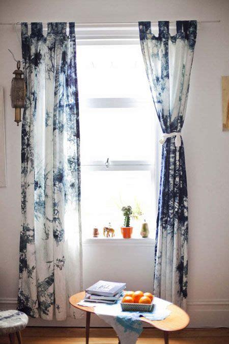 shibori tie dye curtains dye curtains home decor