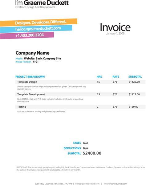 graphics invoice images  pinterest invoice