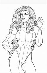 Shehulk Hulk Coloring Pages She Deviantart Avengers Marvel Colouring Comic Printable Comics Jamiefayx Adult Disney sketch template