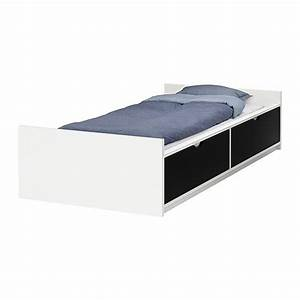 FLAXA Cadre Lit Avec Rangement IKEA