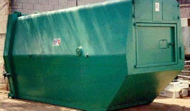 prm mp  portable compactor prm waste systems