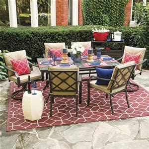 vinehaven  piece dining set lowes canada