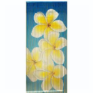 blue frangipani beaded door curtains buy online