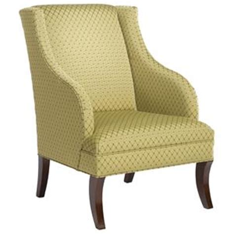 fairfield chairs wing chair ottoman with cabriole legs