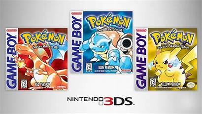 Pokemon Nintendo Yellow Games Virtual Console 3ds