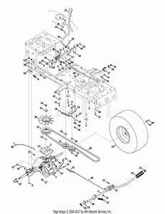 Mtd Lt542h 13an79gs897  2012   13an79gs897  2012  Parts Diagram For Drive  U0026 Rear Wheels