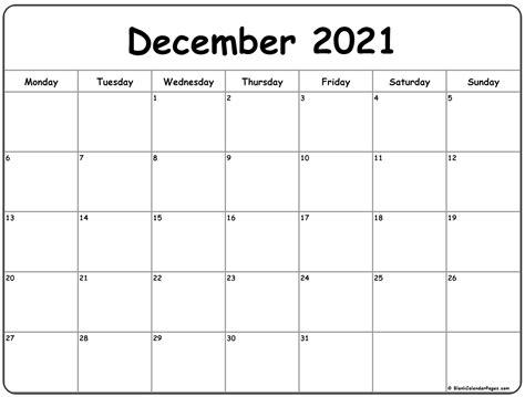 15+ 2021 December Calendar  Images