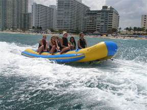 party rentals fort lauderdale boat rides tours trips in fort lauderdale banana boats