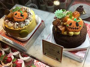 Tokyo Halloween Themed Food  Pumpkin Burgers At Grand