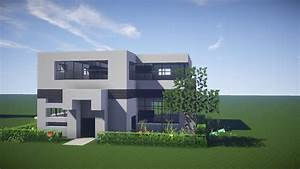 Minecraft House Tutorial : HOW TO BUILD A MODERN HOUSE IN MINECRAFT - Minecraft House Build