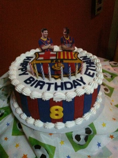 fc barcelona birthday cake cake ideas pinterest